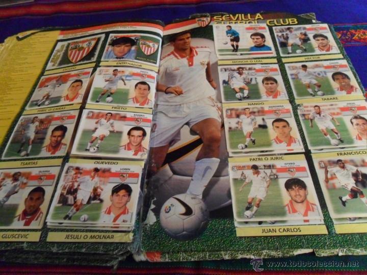 Álbum de fútbol completo: ESTE LIGA 1999 2000 99 00 COMPLETO. CON CLEMENTE, MUCHOS CROMOS DOBLES Y FICHAJES DOBLES. - Foto 24 - 48154733