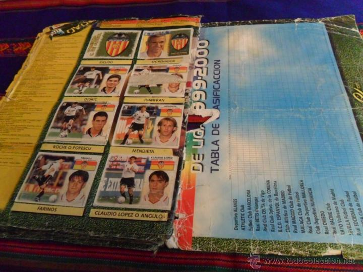 Álbum de fútbol completo: ESTE LIGA 1999 2000 99 00 COMPLETO. CON CLEMENTE, MUCHOS CROMOS DOBLES Y FICHAJES DOBLES. - Foto 25 - 48154733
