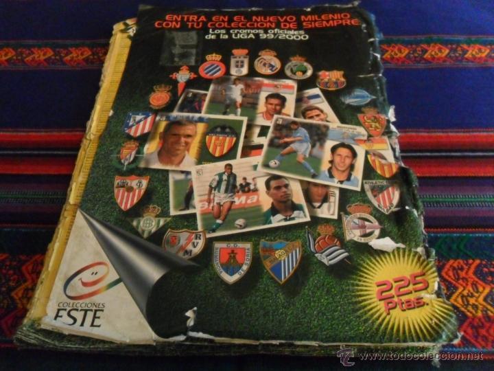 Álbum de fútbol completo: ESTE LIGA 1999 2000 99 00 COMPLETO. CON CLEMENTE, MUCHOS CROMOS DOBLES Y FICHAJES DOBLES. - Foto 26 - 48154733