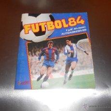 Álbum de fútbol completo: FUTBOL 84 ( 1ª Y 2ª DIVISION AUTOADHESIVOS ) - FIGURINE PANINI - ALBUM COMPLETO A FALTA DE 1 CROMO. Lote 52413986