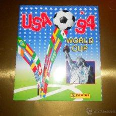 Álbum de fútbol completo: ALBUM DE CROMO USA 94 WORLD CUP - PANINI - COMPLETO - COPA DEL MUNDO ESTADOS UNIDOS 1994. Lote 53222143