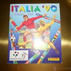 Álbum de fútbol completo: ALBUM DE CROMOS ITALIA 90 WORLD CUP - PANINI - COMPLETO - COPA DEL MUNDO. Lote 52482959