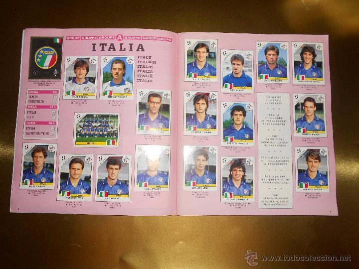 Álbum de fútbol completo: ALBUM DE CROMOS ITALIA 90 WORLD CUP - PANINI - COMPLETO - COPA DEL MUNDO - Foto 5 - 52482959
