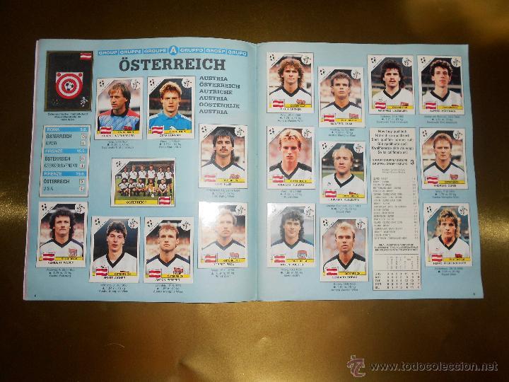 Álbum de fútbol completo: ALBUM DE CROMOS ITALIA 90 WORLD CUP - PANINI - COMPLETO - COPA DEL MUNDO - Foto 6 - 52482959