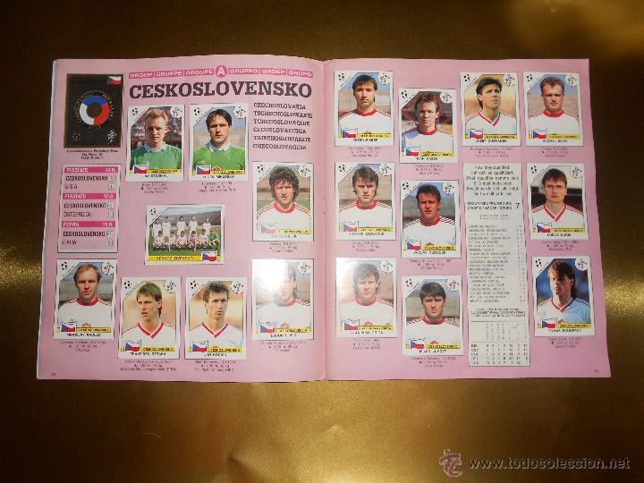 Álbum de fútbol completo: ALBUM DE CROMOS ITALIA 90 WORLD CUP - PANINI - COMPLETO - COPA DEL MUNDO - Foto 7 - 52482959