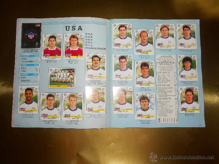 Álbum de fútbol completo: ALBUM DE CROMOS ITALIA 90 WORLD CUP - PANINI - COMPLETO - COPA DEL MUNDO - Foto 8 - 52482959