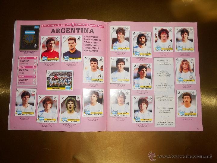 Álbum de fútbol completo: ALBUM DE CROMOS ITALIA 90 WORLD CUP - PANINI - COMPLETO - COPA DEL MUNDO - Foto 9 - 52482959