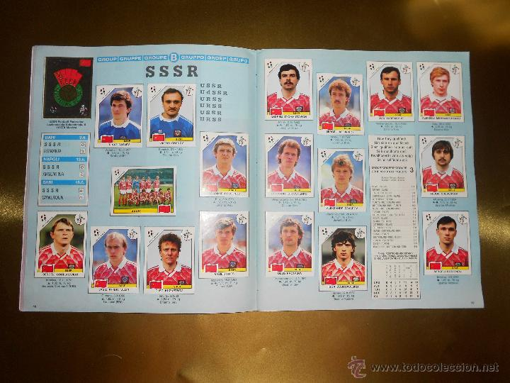 Álbum de fútbol completo: ALBUM DE CROMOS ITALIA 90 WORLD CUP - PANINI - COMPLETO - COPA DEL MUNDO - Foto 10 - 52482959