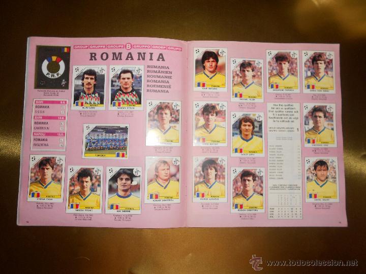 Álbum de fútbol completo: ALBUM DE CROMOS ITALIA 90 WORLD CUP - PANINI - COMPLETO - COPA DEL MUNDO - Foto 11 - 52482959