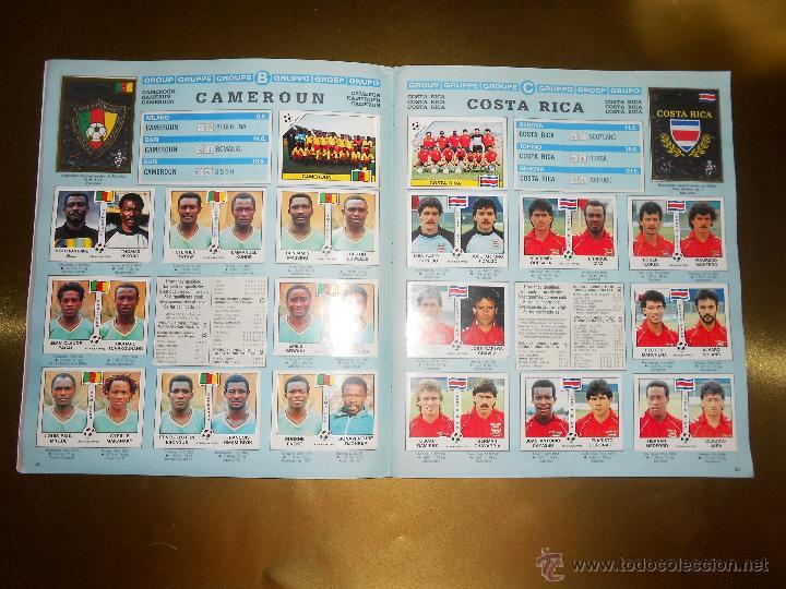 Álbum de fútbol completo: ALBUM DE CROMOS ITALIA 90 WORLD CUP - PANINI - COMPLETO - COPA DEL MUNDO - Foto 12 - 52482959