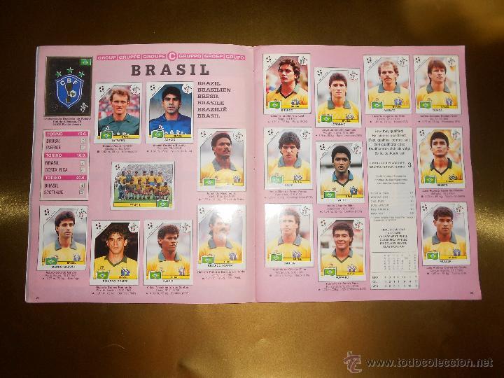 Álbum de fútbol completo: ALBUM DE CROMOS ITALIA 90 WORLD CUP - PANINI - COMPLETO - COPA DEL MUNDO - Foto 13 - 52482959