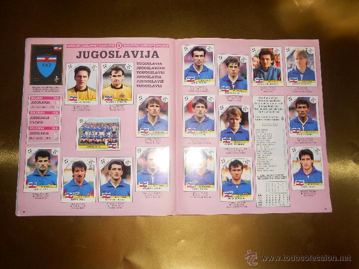 Álbum de fútbol completo: ALBUM DE CROMOS ITALIA 90 WORLD CUP - PANINI - COMPLETO - COPA DEL MUNDO - Foto 17 - 52482959