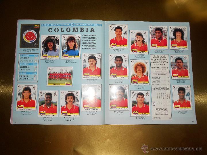 Álbum de fútbol completo: ALBUM DE CROMOS ITALIA 90 WORLD CUP - PANINI - COMPLETO - COPA DEL MUNDO - Foto 18 - 52482959