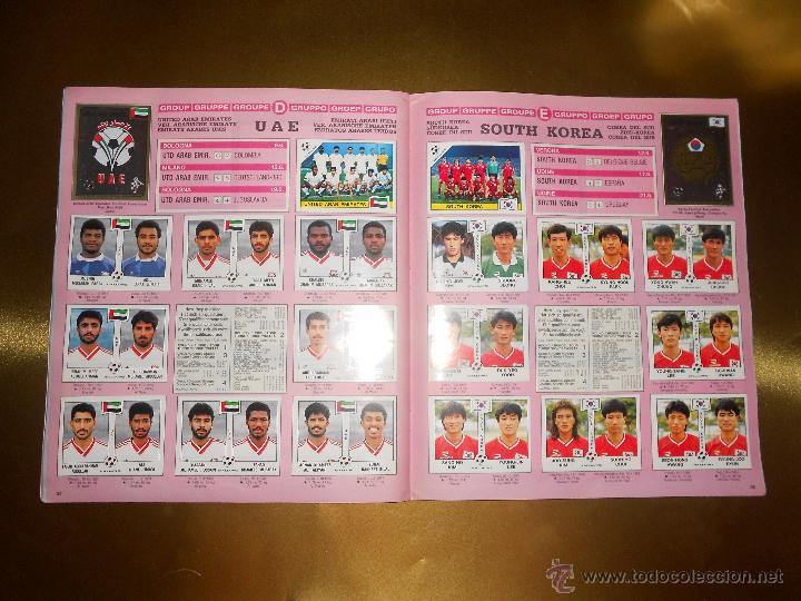 Álbum de fútbol completo: ALBUM DE CROMOS ITALIA 90 WORLD CUP - PANINI - COMPLETO - COPA DEL MUNDO - Foto 19 - 52482959