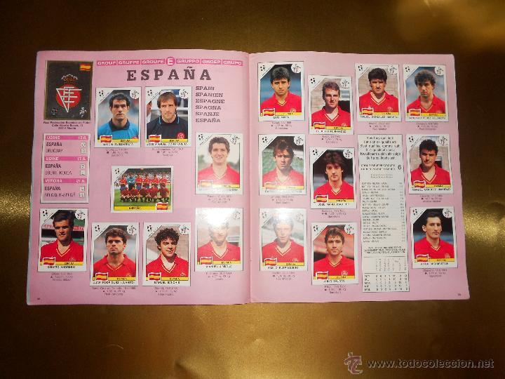 Álbum de fútbol completo: ALBUM DE CROMOS ITALIA 90 WORLD CUP - PANINI - COMPLETO - COPA DEL MUNDO - Foto 21 - 52482959
