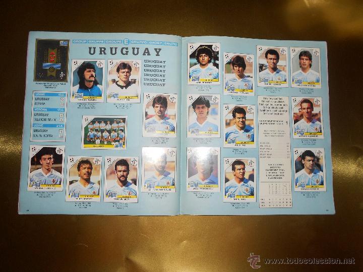 Álbum de fútbol completo: ALBUM DE CROMOS ITALIA 90 WORLD CUP - PANINI - COMPLETO - COPA DEL MUNDO - Foto 22 - 52482959