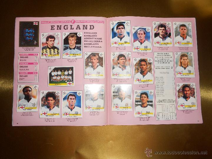 Álbum de fútbol completo: ALBUM DE CROMOS ITALIA 90 WORLD CUP - PANINI - COMPLETO - COPA DEL MUNDO - Foto 23 - 52482959