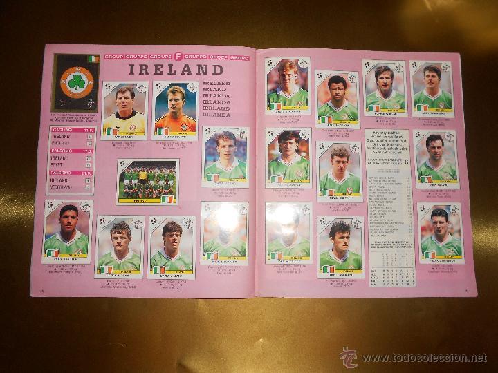 Álbum de fútbol completo: ALBUM DE CROMOS ITALIA 90 WORLD CUP - PANINI - COMPLETO - COPA DEL MUNDO - Foto 25 - 52482959