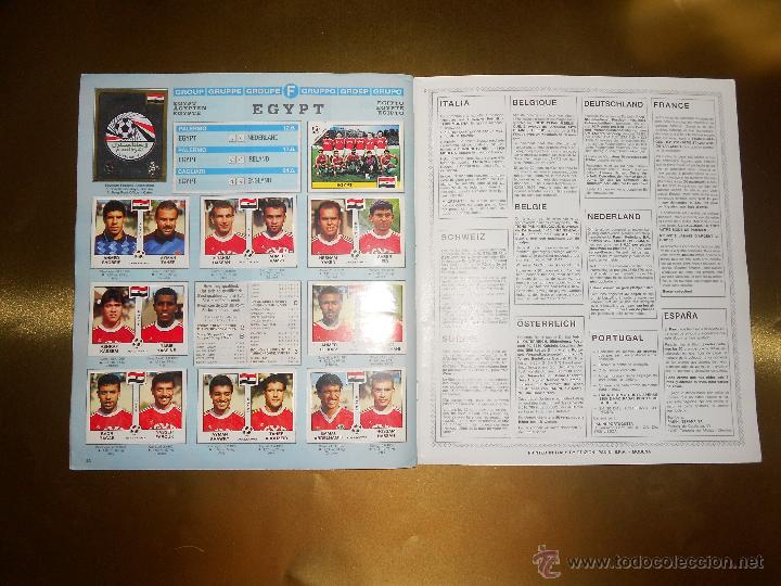 Álbum de fútbol completo: ALBUM DE CROMOS ITALIA 90 WORLD CUP - PANINI - COMPLETO - COPA DEL MUNDO - Foto 26 - 52482959