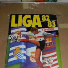 Álbum de fútbol completo: ALBUM LIGA 82 / 83 , EDT ESTE, BARCELONA, COMPLETO CON COLOCAS , SEÑALES DE USO. Lote 52529786