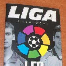 Álbum de fútbol completo: LIGA 2000 - 2001 PANINI LFP. ALBUM DE CROMOS COMPLETO. Lote 52757364