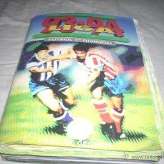 Álbum de fútbol completo: INCREIBLE ALBUM DE LA LIGA 1993-94 DE ESTE COMPLETO Y CON MAS 50 CROMOS DOBLES. Lote 52827507