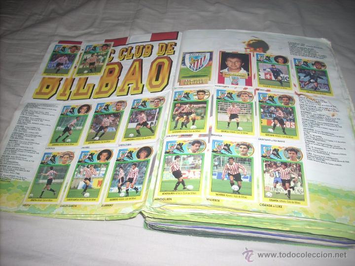 Álbum de fútbol completo: INCREIBLE ALBUM DE LA LIGA 1993-94 DE ESTE COMPLETO Y CON MAS 50 CROMOS DOBLES - Foto 2 - 52827507