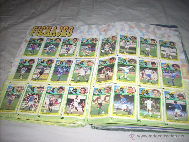 Álbum de fútbol completo: INCREIBLE ALBUM DE LA LIGA 1993-94 DE ESTE COMPLETO Y CON MAS 50 CROMOS DOBLES - Foto 4 - 52827507
