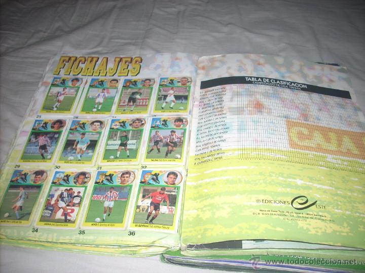 Álbum de fútbol completo: INCREIBLE ALBUM DE LA LIGA 1993-94 DE ESTE COMPLETO Y CON MAS 50 CROMOS DOBLES - Foto 5 - 52827507