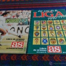 Álbum de fútbol completo: LOS ASES DE LA LIGA 1990 1991 90 91 COMPLETO. DIARIO AS. MUY BUEN ESTADO.. Lote 53096484