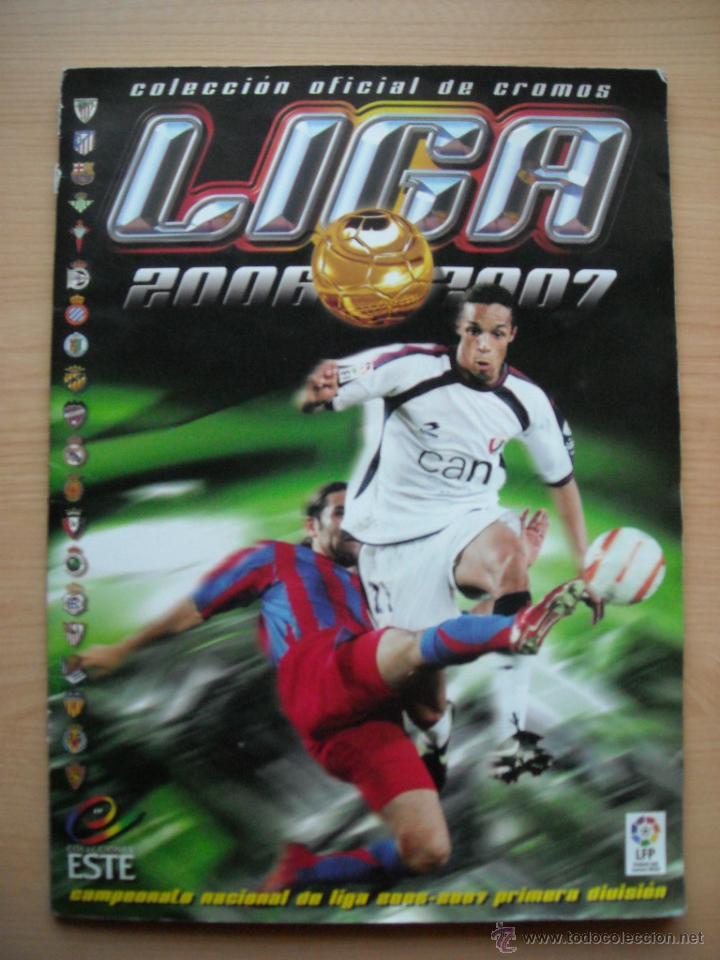 LIGA 2006-2007, ALBUM COMPLETO 437 CROMOS (Coleccionismo Deportivo - Álbumes y Cromos de Deportes - Álbumes de Fútbol Completos)