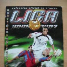 Álbum de fútbol completo: LIGA 2006-2007, ALBUM COMPLETO 437 CROMOS. Lote 53155946