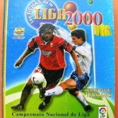 Álbum de fútbol completo: COLECCIÓN COMPLETA MUNDICROMO 1999 2000 IKER CASILLAS PUYOL ÁLBUM, BAJAS, ERRORES, BONOS, VERSIONES. Lote 53232271