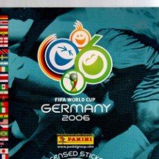 Álbum de fútbol completo - Album Mundial 2006 Germany Panini completo - 53261633