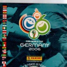 Álbum de fútbol completo - Album Mundial 2006 Germany Panini completo - 53261648
