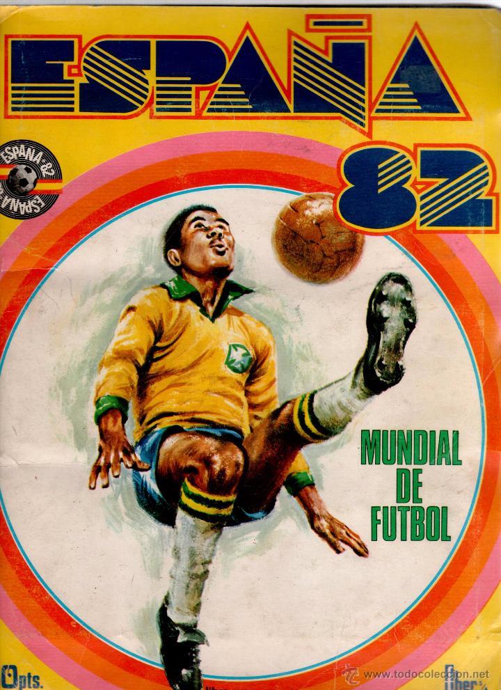 ALBUM MUNDIAL ESPAÑA 82 FHER COMPLETO (Coleccionismo Deportivo - Álbumes y Cromos de Deportes - Álbumes de Fútbol Completos)