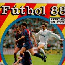 Álbum de fútbol completo: ALBUM FUTBOL 88 PANINI. Lote 53262070