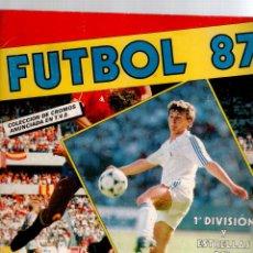 Álbum de fútbol completo: ALBUM FUTBOL 87 PANINI. Lote 53262079