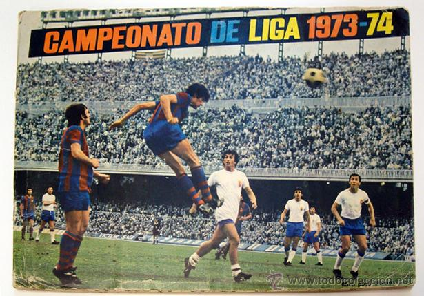 Álbum de fútbol completo: Album 1973 1974 liga 73 74 Fher Disgra. Cruyff, Carnevali, Ayala. Completo cromos, sin poster - Foto 2 - 53304323