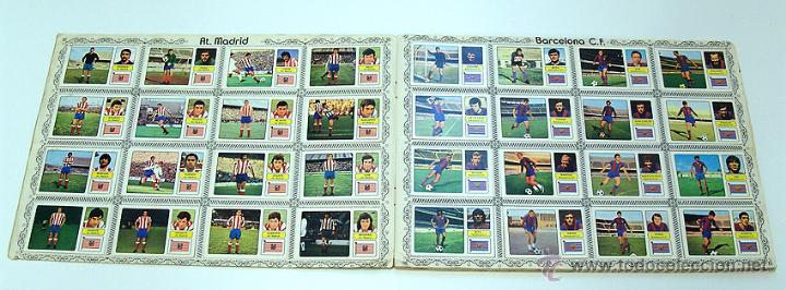 Álbum de fútbol completo: Album 1973 1974 liga 73 74 Fher Disgra. Cruyff, Carnevali, Ayala. Completo cromos, sin poster - Foto 4 - 53304323