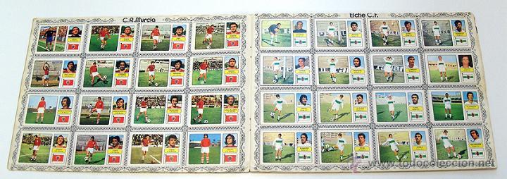Álbum de fútbol completo: Album 1973 1974 liga 73 74 Fher Disgra. Cruyff, Carnevali, Ayala. Completo cromos, sin poster - Foto 6 - 53304323