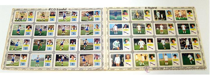 Álbum de fútbol completo: Album 1973 1974 liga 73 74 Fher Disgra. Cruyff, Carnevali, Ayala. Completo cromos, sin poster - Foto 8 - 53304323