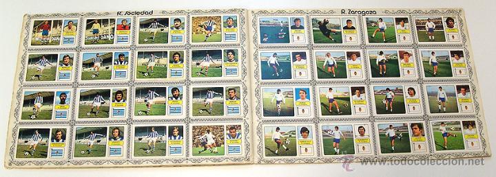 Álbum de fútbol completo: Album 1973 1974 liga 73 74 Fher Disgra. Cruyff, Carnevali, Ayala. Completo cromos, sin poster - Foto 10 - 53304323