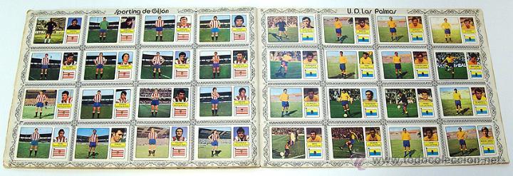 Álbum de fútbol completo: Album 1973 1974 liga 73 74 Fher Disgra. Cruyff, Carnevali, Ayala. Completo cromos, sin poster - Foto 11 - 53304323