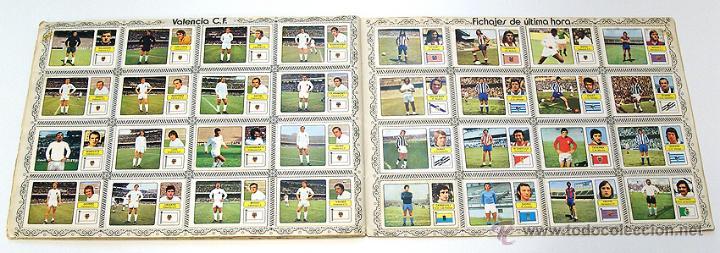 Álbum de fútbol completo: Album 1973 1974 liga 73 74 Fher Disgra. Cruyff, Carnevali, Ayala. Completo cromos, sin poster - Foto 12 - 53304323