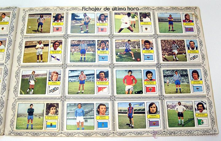 Álbum de fútbol completo: Album 1973 1974 liga 73 74 Fher Disgra. Cruyff, Carnevali, Ayala. Completo cromos, sin poster - Foto 14 - 53304323