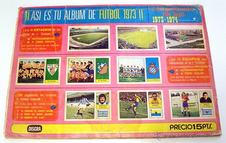 Álbum de fútbol completo: Album 1973 1974 liga 73 74 Fher Disgra. Cruyff, Carnevali, Ayala. Completo cromos, sin poster - Foto 15 - 53304323