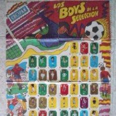 Álbum de fútbol completo: CROPAN MAGNIFICO ALBUM COMPLETO LOS BOYS DE LA SELECCION 1973. Lote 53365869