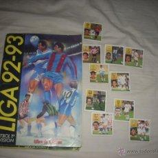 Álbum de fútbol completo: ALBUM INCREIBLE DE LA LIGA 1992-93 DE ESTE COMPLETO Y CON ADEMAS CASI TODOS LOS COLOCA. Lote 53367611