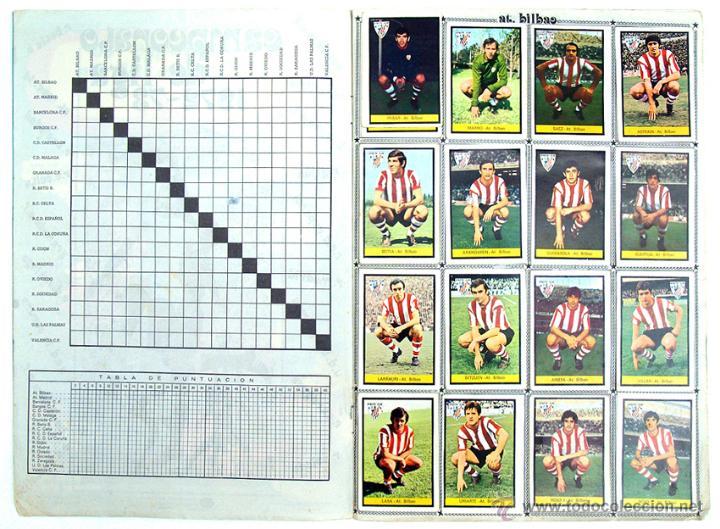 Álbum de fútbol completo: album 1972 1973 Fher Disgra futbol. Campeonato de Liga 72 73. Completo. 2 versiones Iribar - Foto 3 - 48643348